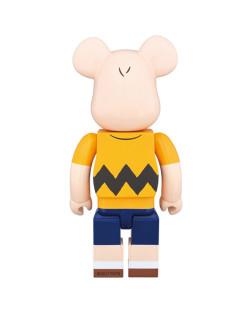 Medicom Toy - Bearbrick 400% - Charlie Brown
