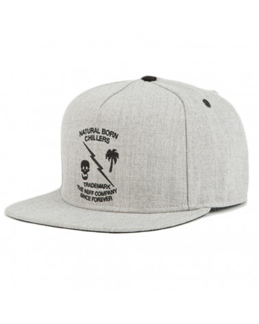 Neff - Snapback Graphite - Grey Heather