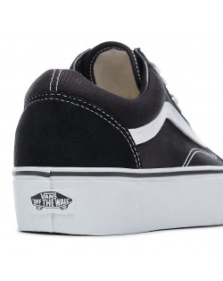 Vans - Old Skool Platform - Black/White