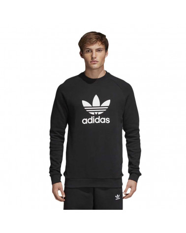 Adidas Original - Sweatshirt Trefoil Crew - Black/White