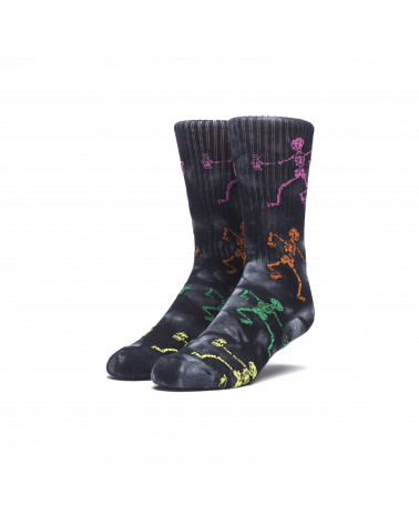 Calze HUF Owsley Sock Black Wash