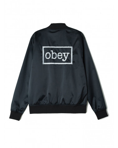 bomber obey Giacca Band Jacket - Black