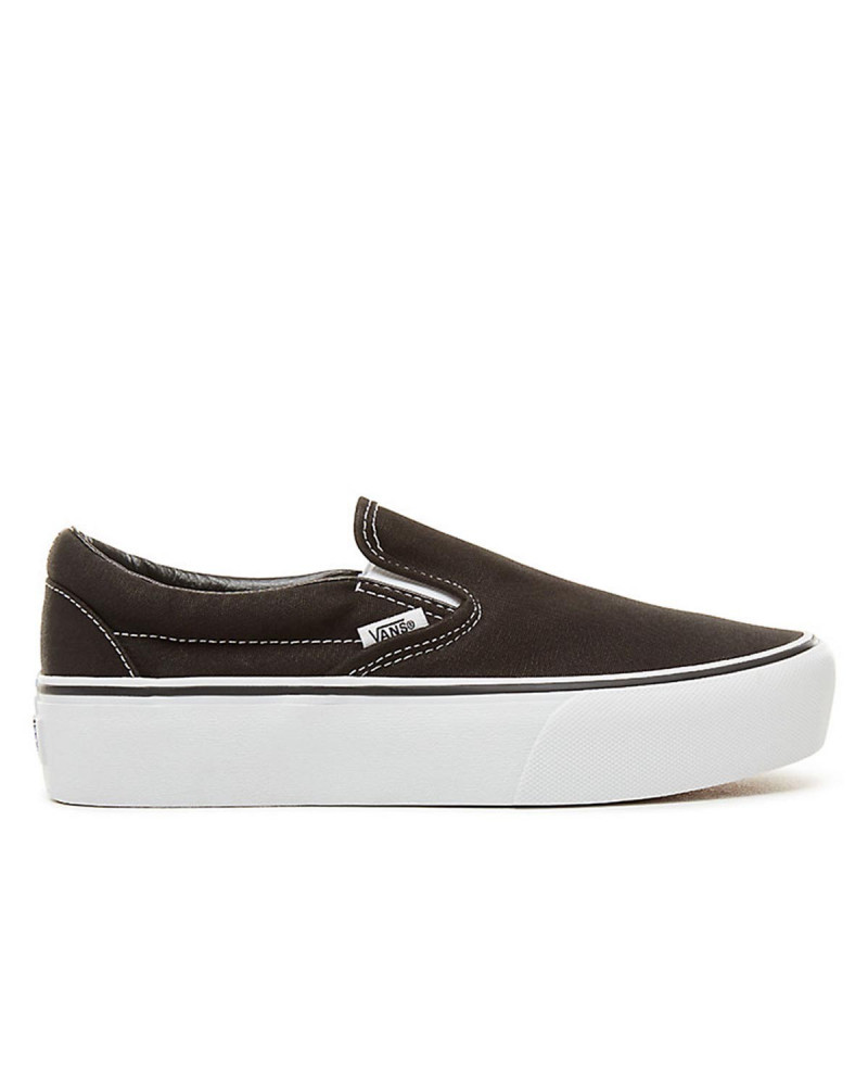 Scarpe Vans Femminili Classic Slip-On Platform Black