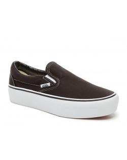 Vans - Classic Slip-On Platform - Black