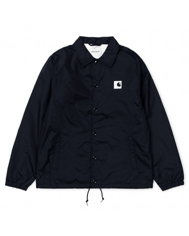 Carhartt Gicca Sports Pile Coach Jacket Dark Navy/Wax