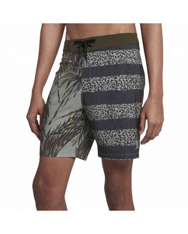 "Hurley Boardshort Phantom Floral 18"" Dark Stucco"