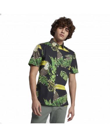 Hurley Camicia Manica Corta Toucan Black