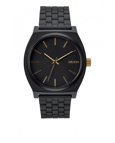 Nixon - Time Teller - Mattle Black / Gold