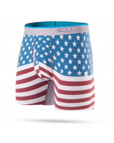 Stance Boxer Bicentennial Boxer Brief - Red