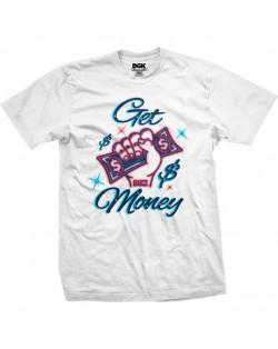 DGK - T-Shirt Get Money - White