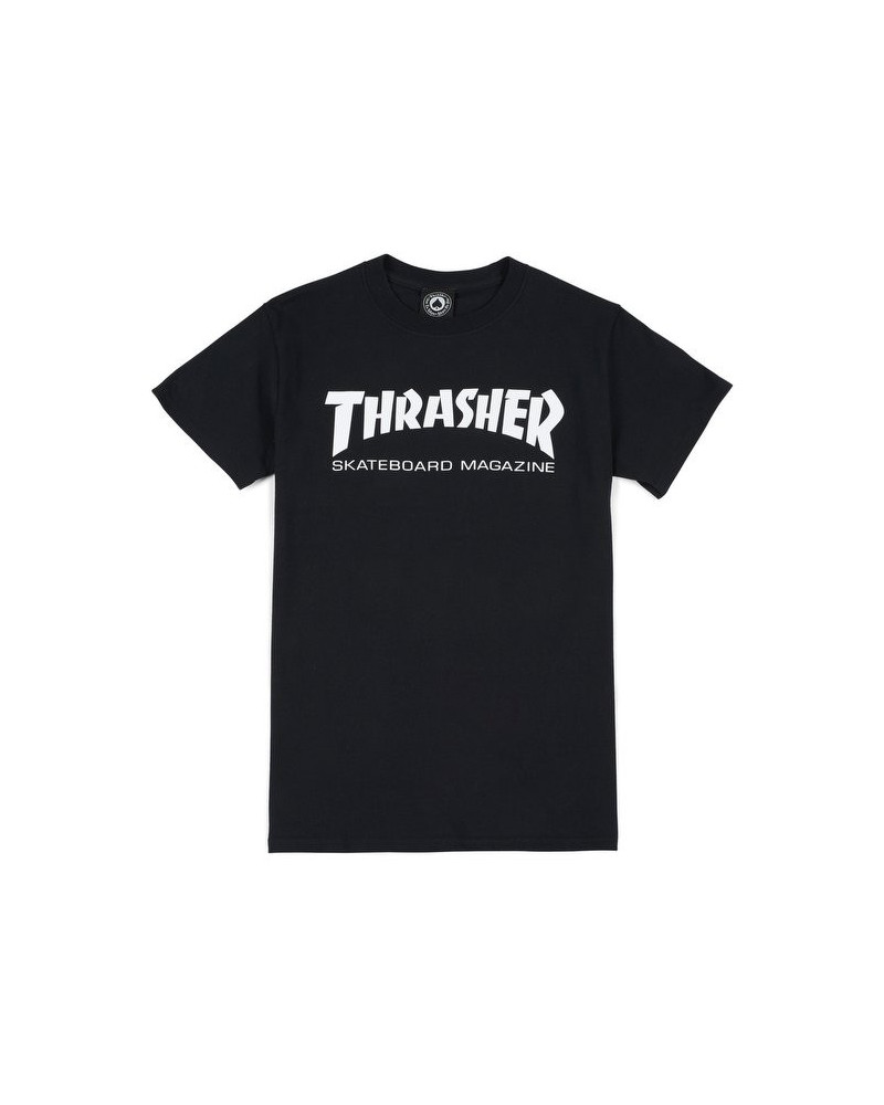 Thrasher - T-Shirt Skatemag - Black/White