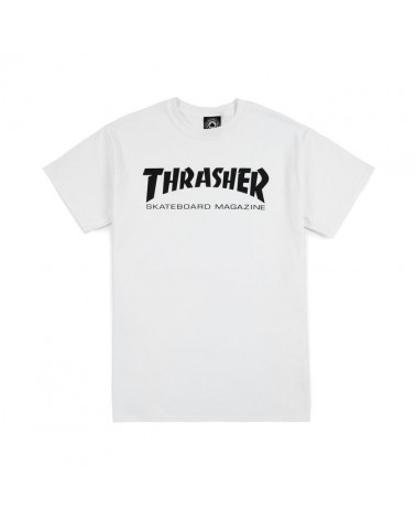 Thrasher - T-Shirt Skatemag - White/Black