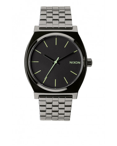 Nixon - Time Teller - Polished Gunmetal / Lum