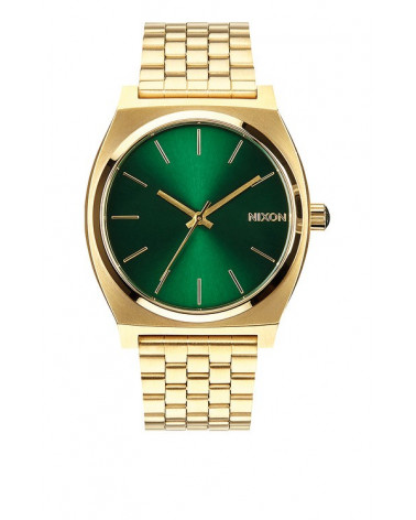 Nixon - Time Teller - Gold / Green Sunray