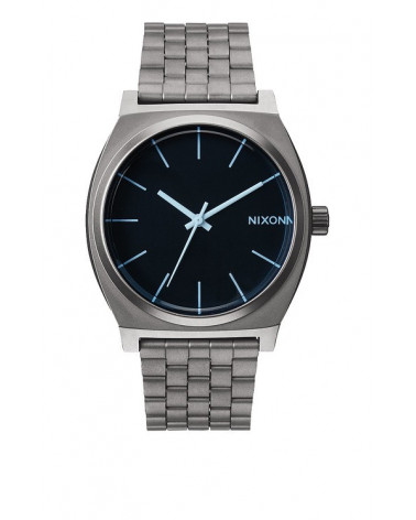 Nixon - Time Teller - GunMetal / Blue Crystal