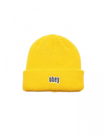 Obey - Cappello Jungle Beanie - Dusty Yellow