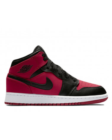 Nike Air Jordan 1 Mid - Gym Red/White/Black