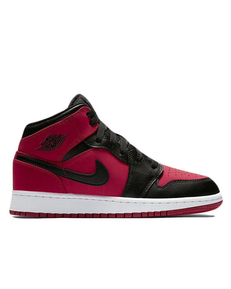 outlet store 4f3d7 f0436 Nike Air Jordan 1 Mid - Gym Red White Black