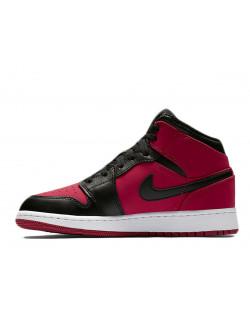 Nike Air Jordan 1 Mid - Gym Red/White/Black