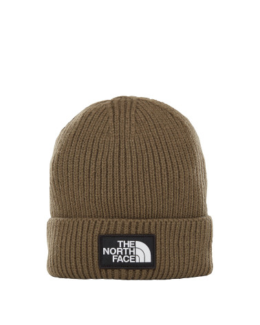 The North Face - Beanie Logo Box Cuff - Green