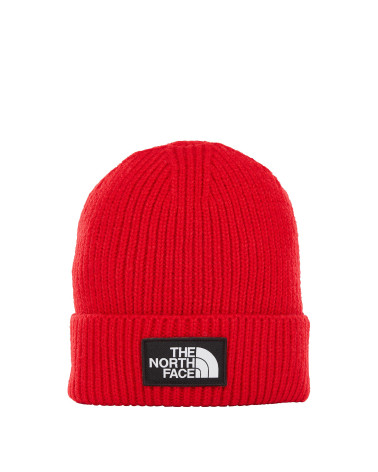 The North Face - Beanie Logo Box Cuff - Red