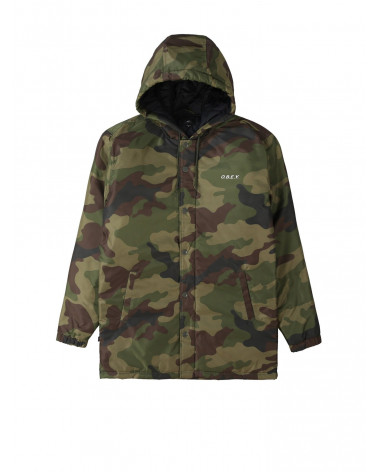 Obey - Giacca Singford Parka - Camo