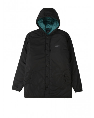 Obey - Giacca Singford Parka - Black