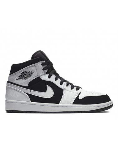 Nike Air Jordan 1 Mid - White/Black-White