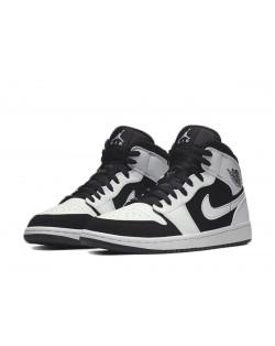 Nike Air Jordan 1 Mid - White/Black-White