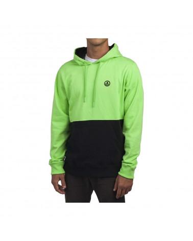 Neff - Sweatshirt Split Hoodie - Slime/Black