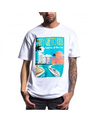 DGK - T-Shirt Go Fast - White