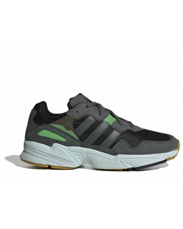 Adidas Originals Yung 96 - Black/ Legend Ivy/Raw Ochre