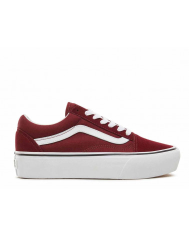 Vans Old Skool Platform - Port Royale/True White