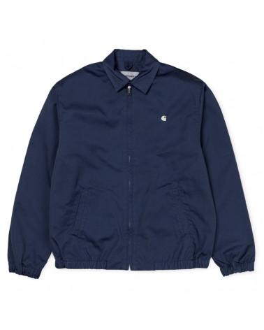 Carhartt Wip Giacca Madison Jacket - Blue/Wax