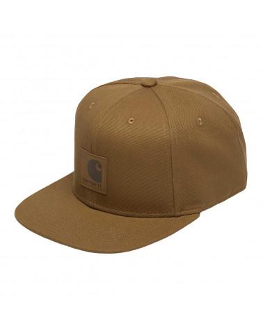 Carhartt - Cappello Logo Cap - Hamilton Brown