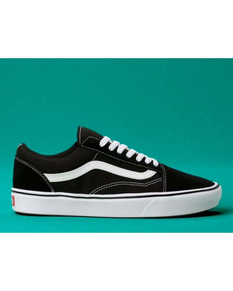 9712bfd4e2c Vans Old Skool ComfyCush Classic - Black White