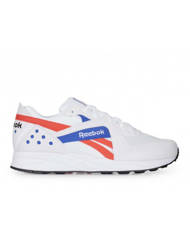 Reebok Pyro - White/Neon Red/Cobalt/Black