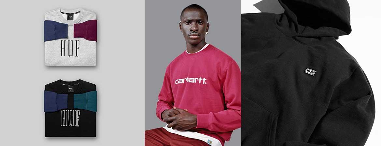 half off ac401 e6ae4 Felpe Uomo Streetwear | Negozio Online Felpe Streetwear ...